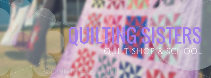 Quilting Sisters Personalized Facebook Timeline Cover